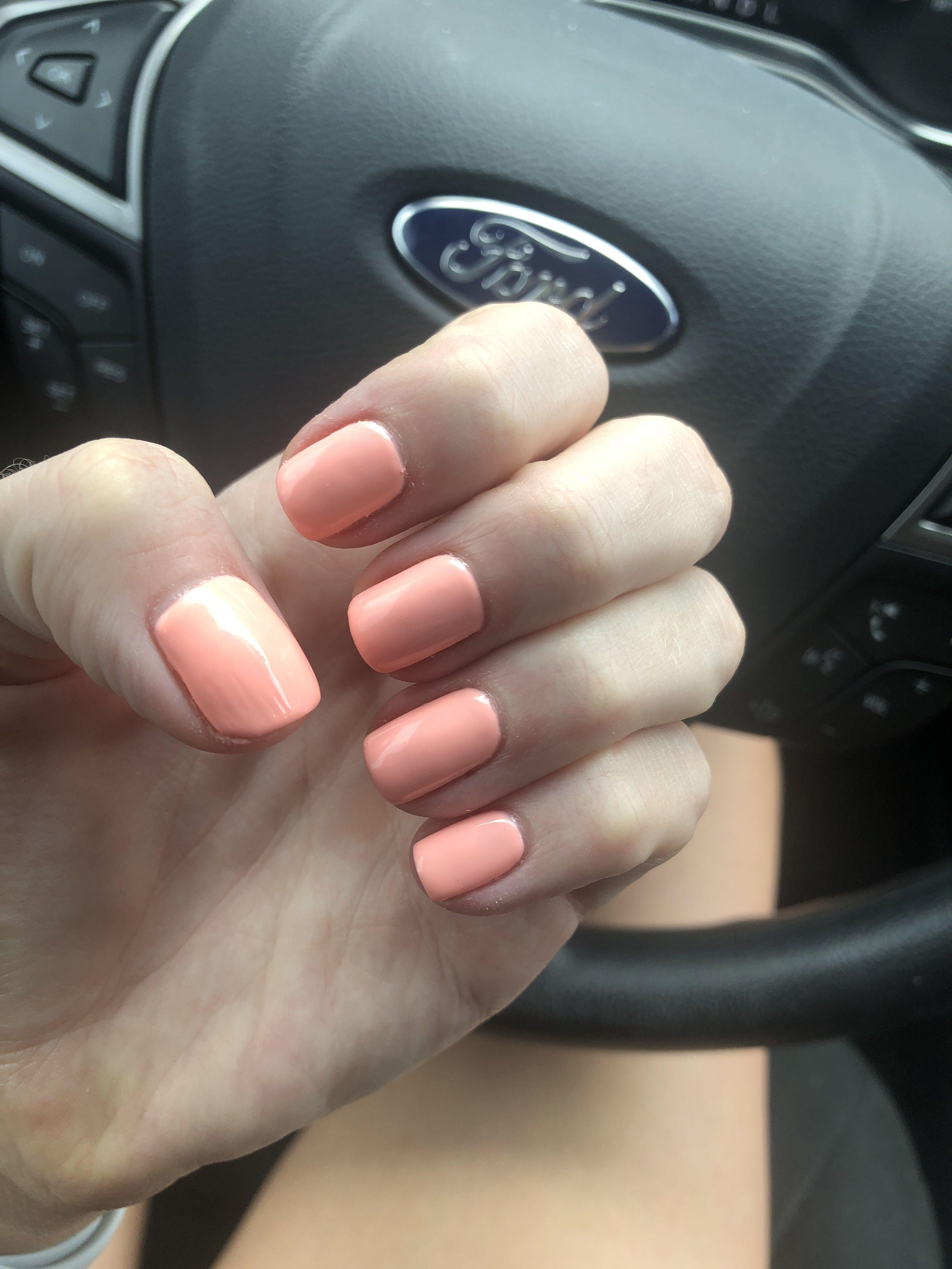 Dnd Shellac Polish 586 Pink Salmon Dnd Gel Polish Dnd Gel Nail Polish Pink Gel Nails