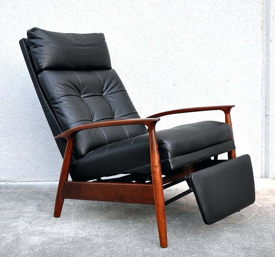 Recliner Modern Mid Century Sectional Leather Sofa Small Chairs