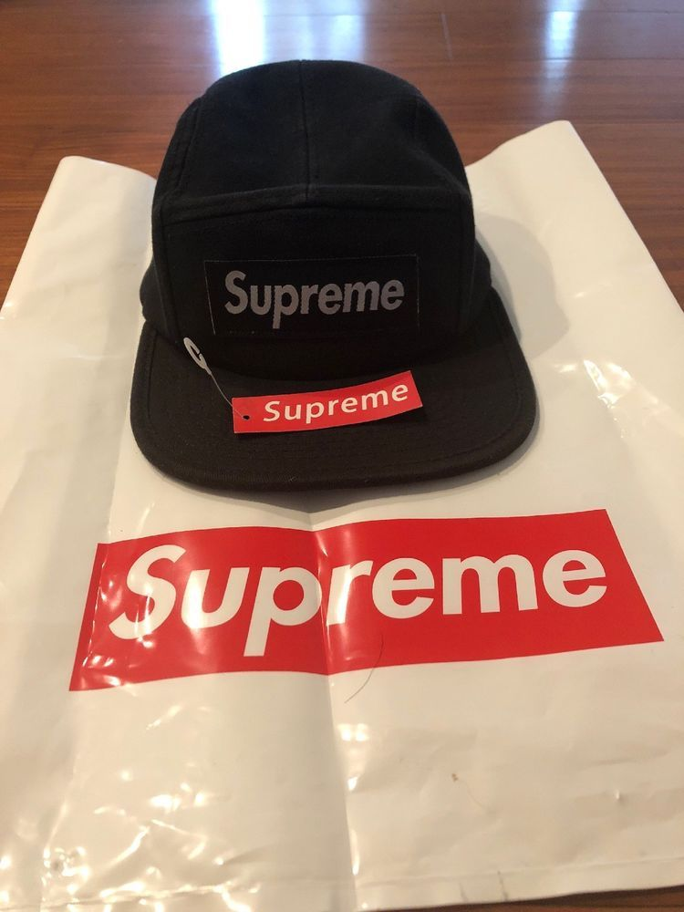 b6e6547f Supreme Hat (black) #fashion #clothing #shoes #accessories #mensaccessories  #hats (ebay link)