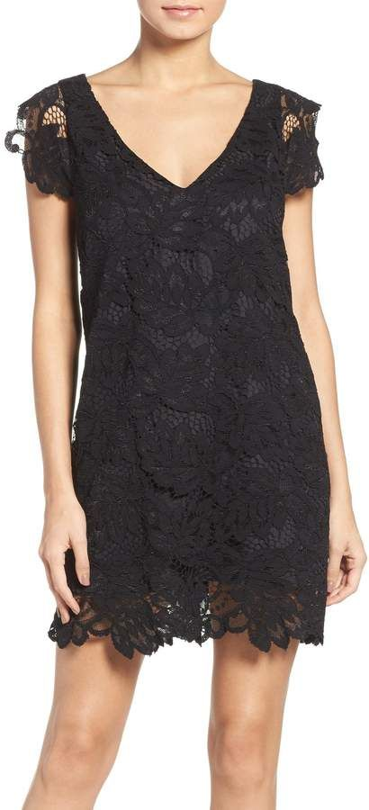 5448b5c9c34e BB Dakota  Jacqueline  Lace Shift Dress