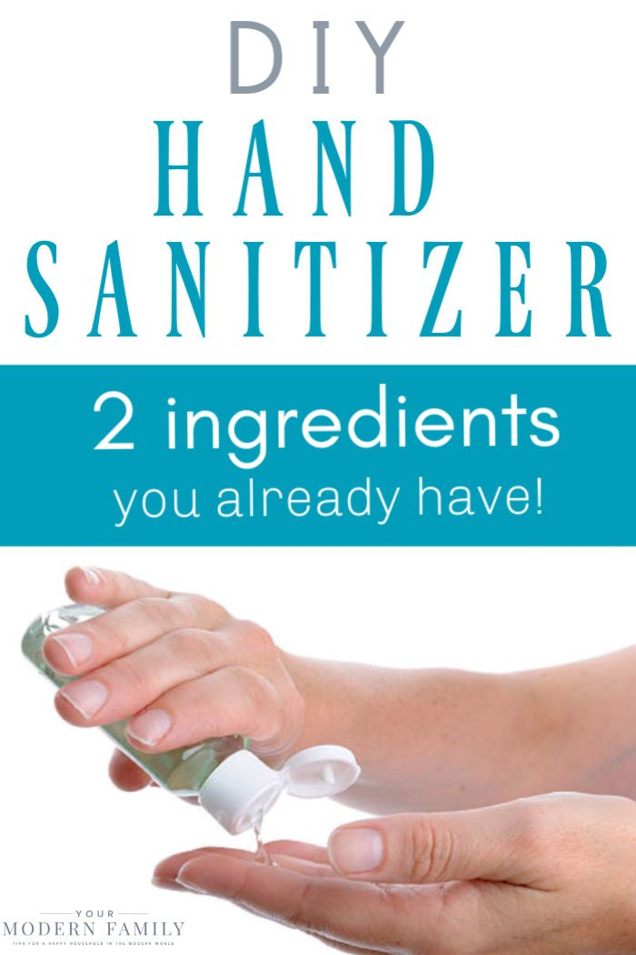 DIY Hand Sanitizer (Just two ingredients!) - it works!