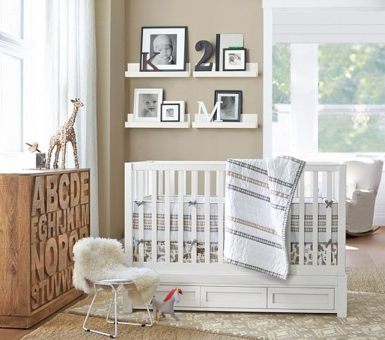 Hayden pedestal ledge pottery barn kids here it is in a bedroom 39 · girl roomgirls bedroombaby room boysbedroom ideasmagazine
