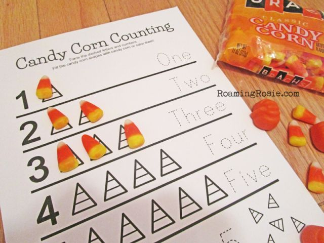 Candy Corn Counting Math Worksheets Free Printables Math Freebie Candy Math Halloween Math Lesson