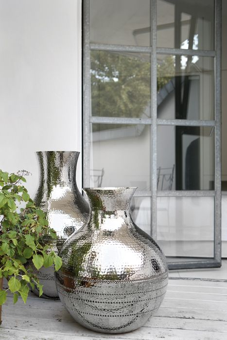 Fink Zagora Floor Vase UBER Interiors #vase #outdoorliving