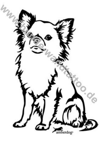 Tattoo Chihuahua Line