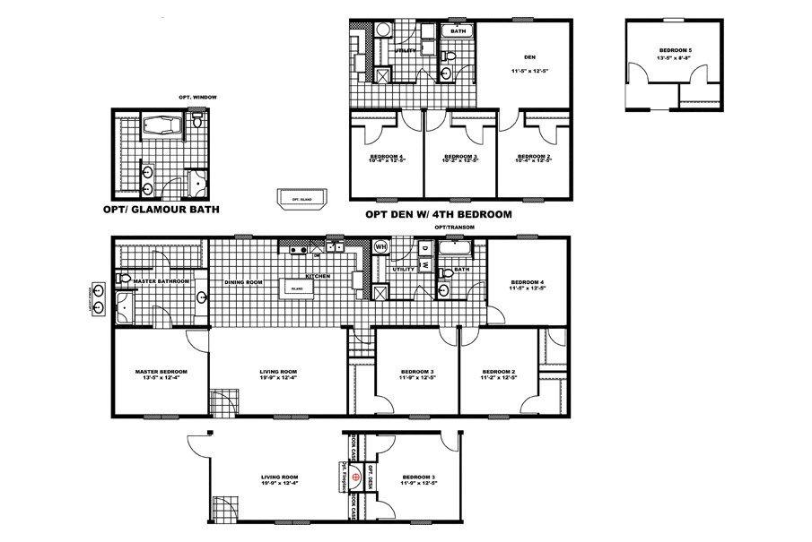 Interactive Floor Plan Modular homes House blueprints