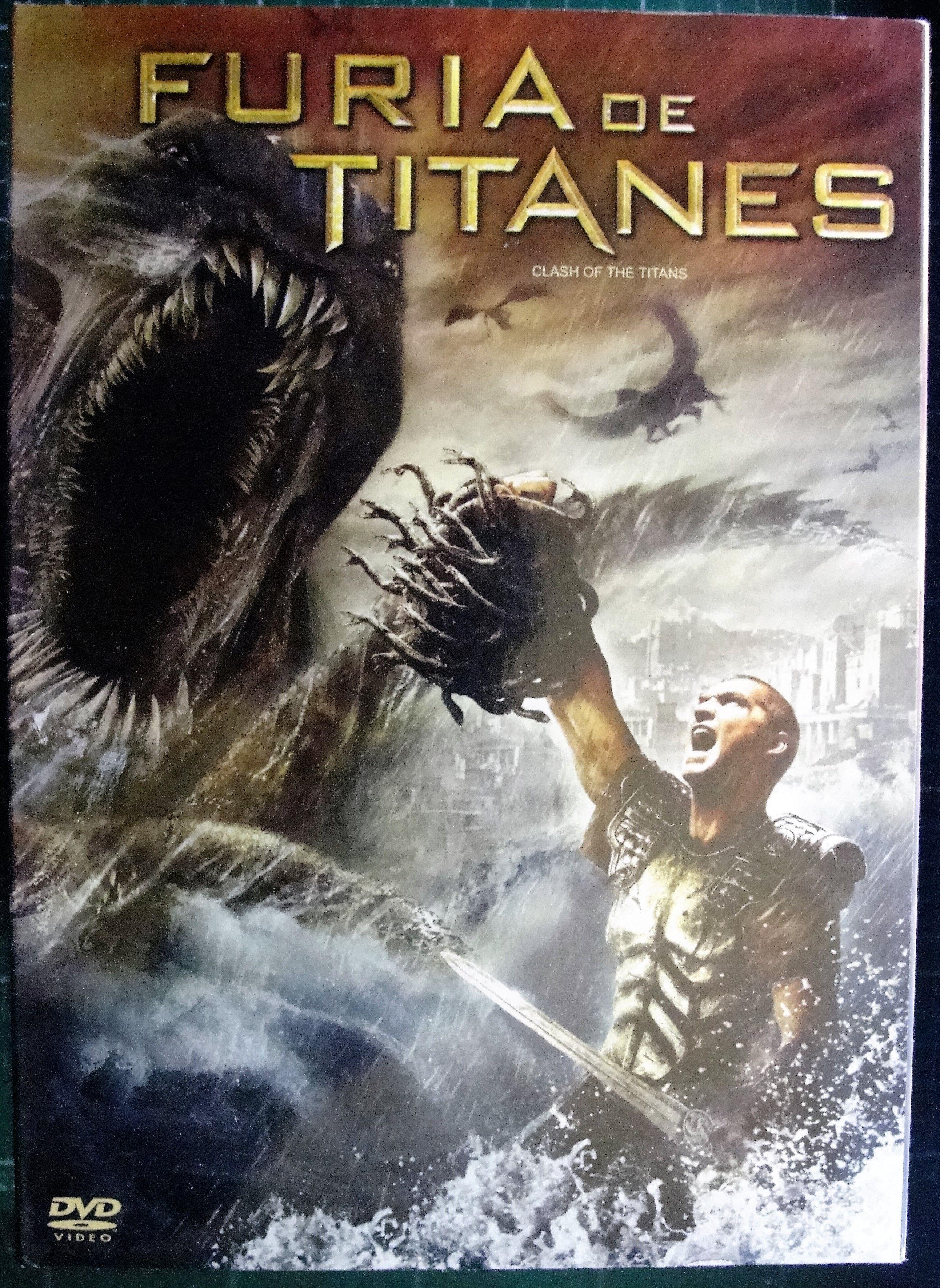 Furia De Titanes 1 Furia De Titanes Peliculas Dvd