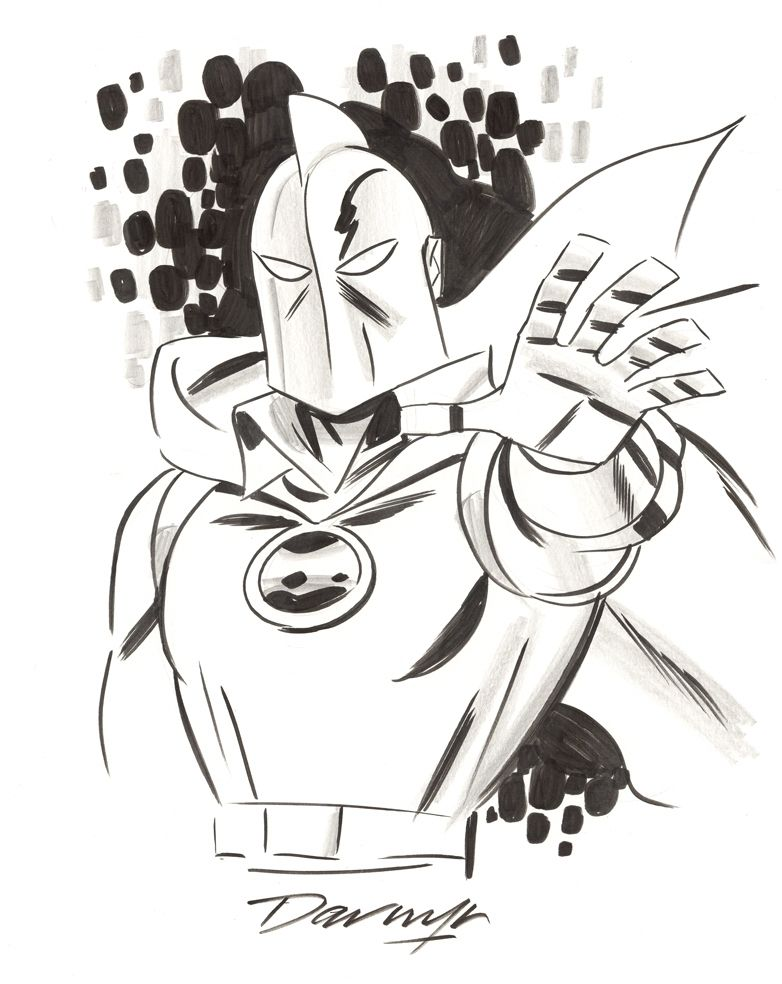 Dr. Fate by Darwyn Cooke