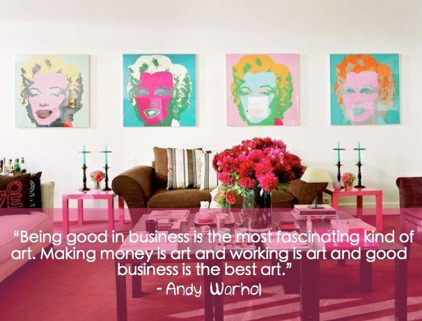 andy warhol - business & art