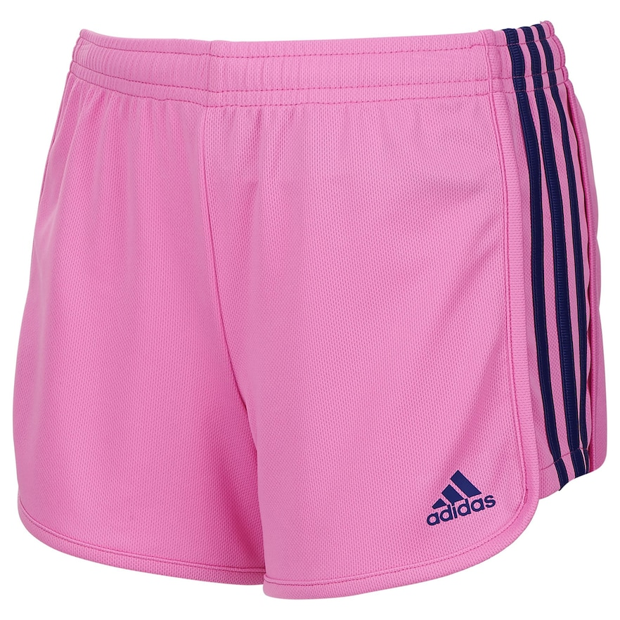 d9ca5c9929a Girls 7-16 adidas Three Stripe Mesh Shorts