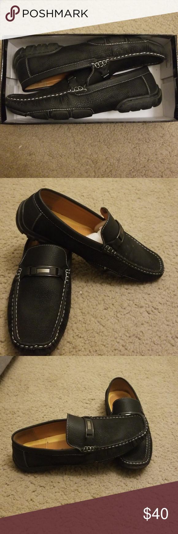 Starsax Casual Dress Loafer Dress Loafers Loafers Dress Shoes Men [ 1740 x 580 Pixel ]