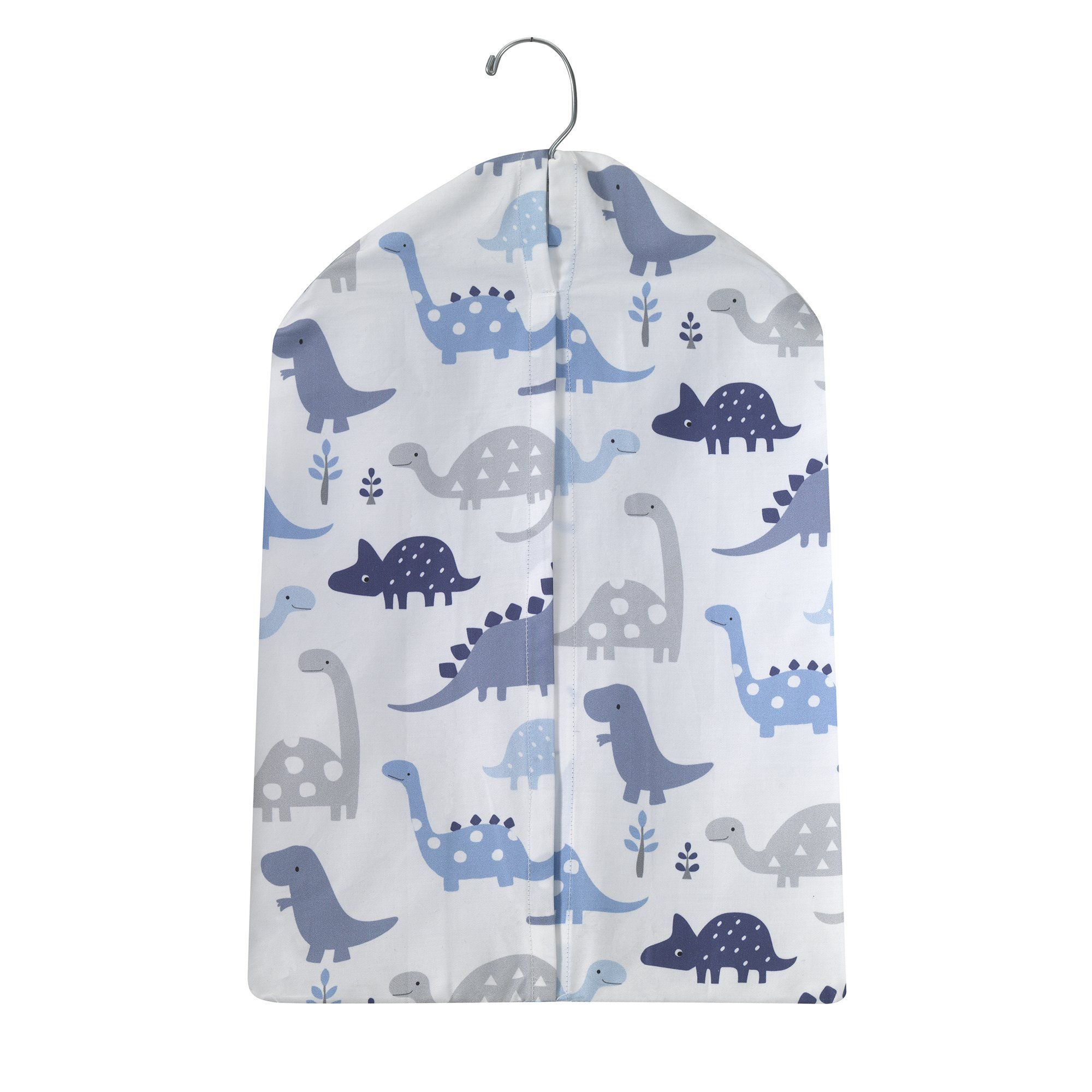 Blue//Gray Bedtime Originals Roar Dinosaur Musical Mobile