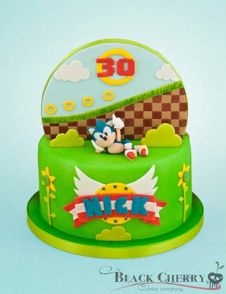 Pin by claire philpott on cakes sonic birthday cake