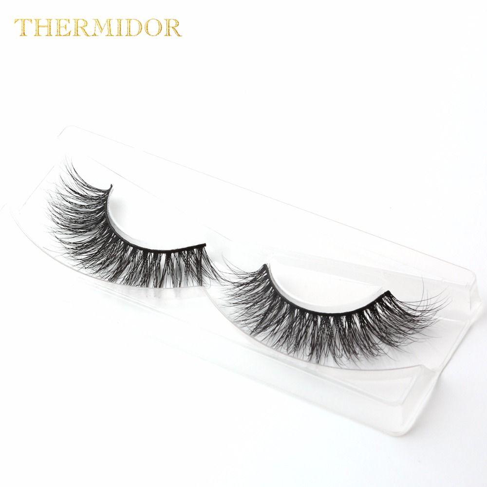 3d Mink Eyelash Strip Fake Eye Lash Full Mink Eyelash Extension