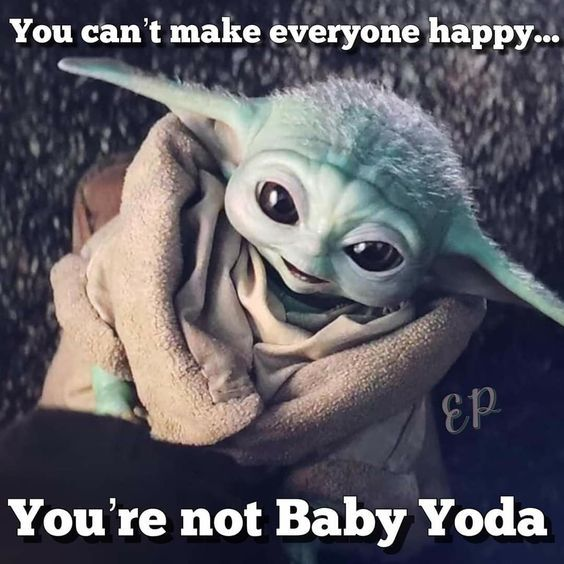 50 Hilarious Baby Yoda Memes To Make Your Day Page 5 Of 5 Slviki In 2020 Yoda Funny Yoda Meme Star Wars Memes