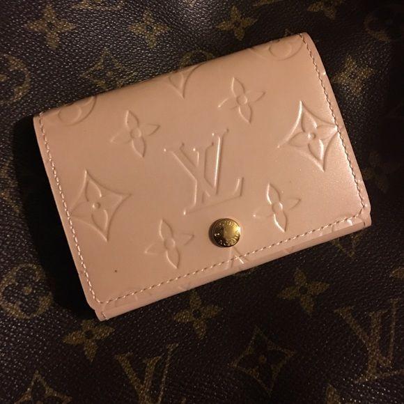Louis vuitton business card holder rose florentin nwt business louis vuitton business card holder rose florentin colourmoves Images