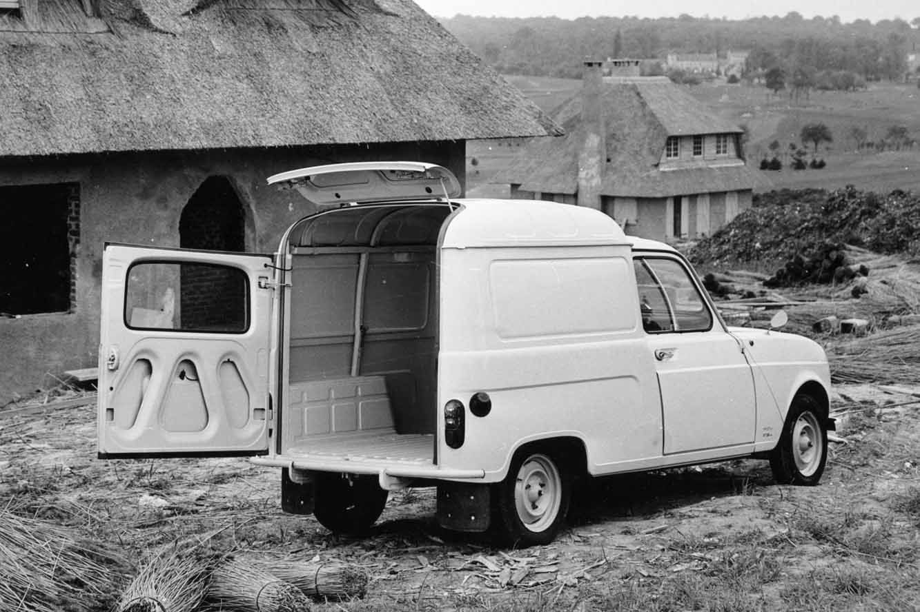 renault 4l fourgonnette achet e en 1978 pour le d but de. Black Bedroom Furniture Sets. Home Design Ideas