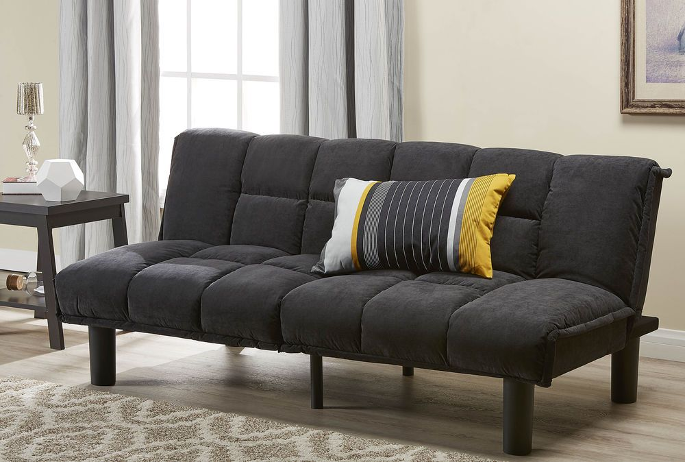 Prime Futon Sofa Couch Bed Lounging Sleeper Full Size Guest Room Short Links Chair Design For Home Short Linksinfo