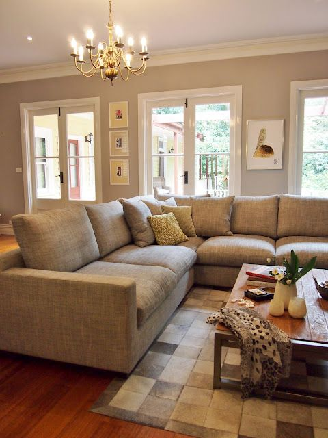 Sectional Sofa For Smaller Or Odd Shaped Living Room