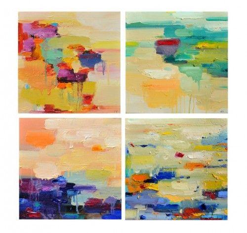 A splash of color for your walls | I Can Make That- DIY Art & Frames ...