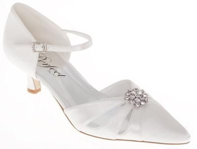 Charmant White Wedding Shoes Low Heel Perfect For Your Big Day | Wedding Shoes Blog