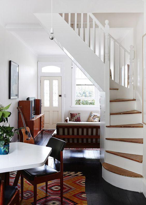 Beautiful 21 Escaleras Compactas Y Perfectas Para Casas Pequeñas   Curso De  Organizacion Del Hogar
