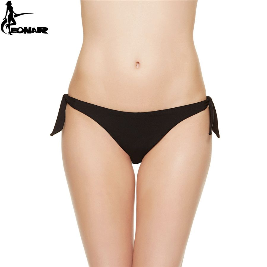 a377242d0d0 EONAR Swimwear Women 2017 Cheeky Bikini Bottom Adjustable Side Ties Brazilian  Thong Swimsuit Classic Cut Bottoms Biquini Swim // FREE Worldwide Shipping!
