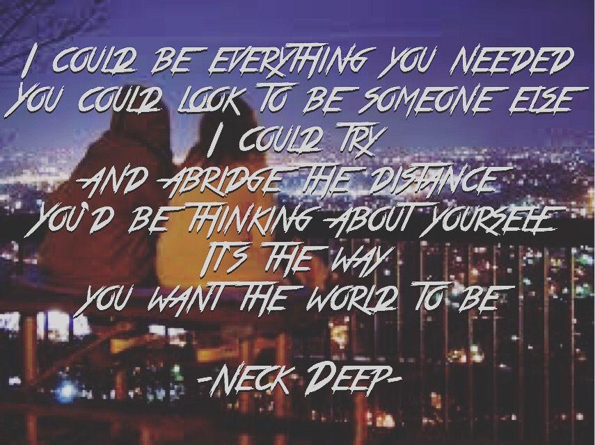 Neckdeep, critical mistake, the peace and the panic, lyrics ...