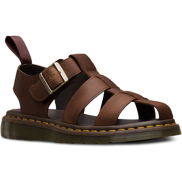 bc7231b62d5b Dr. Martens Leather Galia Sandal Footwear ( 105) ❤ liked on Polyvore  featuring shoes