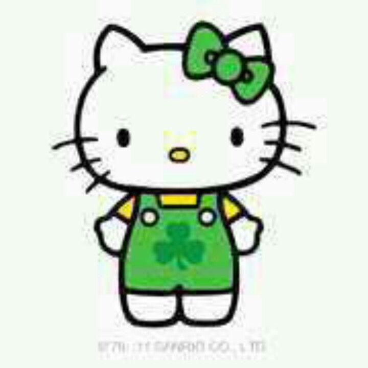 Hello Kitty St Patricks Day   Hello Kitty   Pinterest