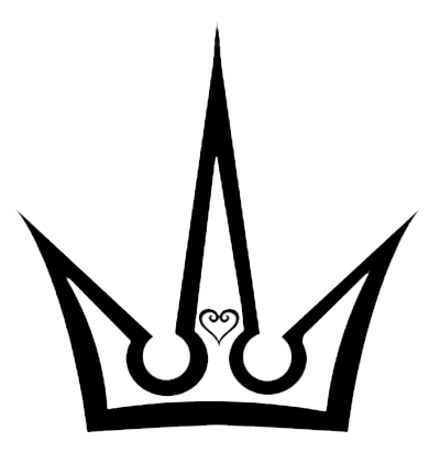 Kingdom Hearts Crown And Heart By Phyrexio D35ti07 Png 400 432 Kingdom Hearts Crown Kingdom Hearts Crown Art