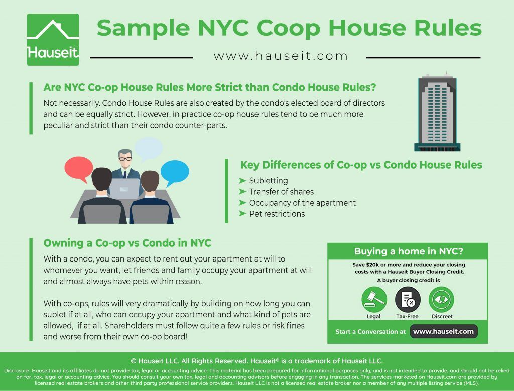 Nyc Coop House Rules Hauseit House Rules Nyc Rules