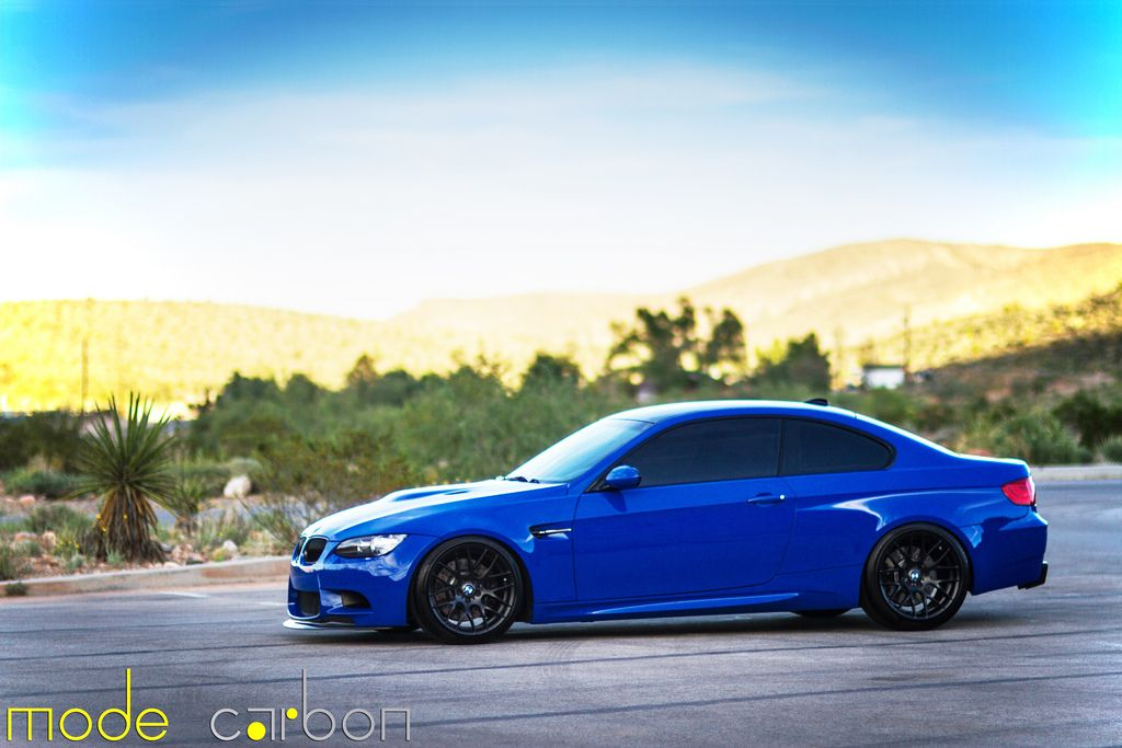 Santorini Blue Bmw E92 M3 By Mode Carbon Bmw Santorini Blue Hd