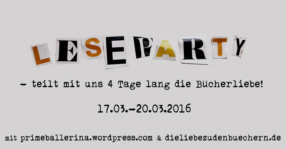 Es ist mal wieder soweit: die Leipziger Buchmesse öffnet bald ihre Pfortenund gemeinsam mit Petzi von Die Liebe zu den Büchern starten wir damit auch unsere bereits dritte Leseparty, als Alternati…