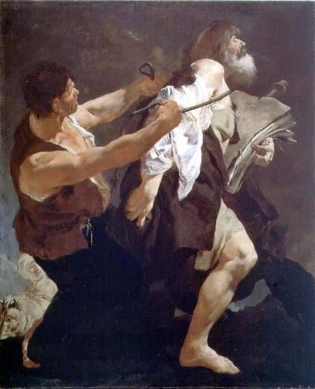 St James led to martyrdom (Piazzetta)