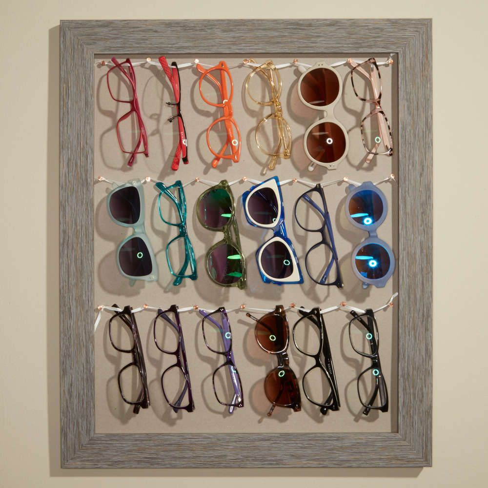 DIY Sunglasses holder made from window shutter. | Home Decor ...