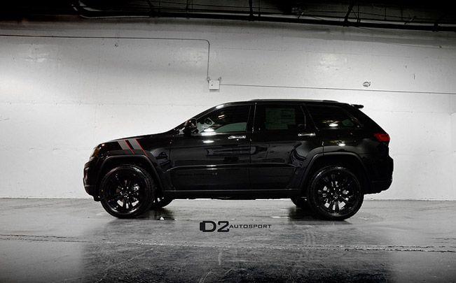 d2 autosport cherokee   Jeep Grand Cherokee D2Edition в черном ...