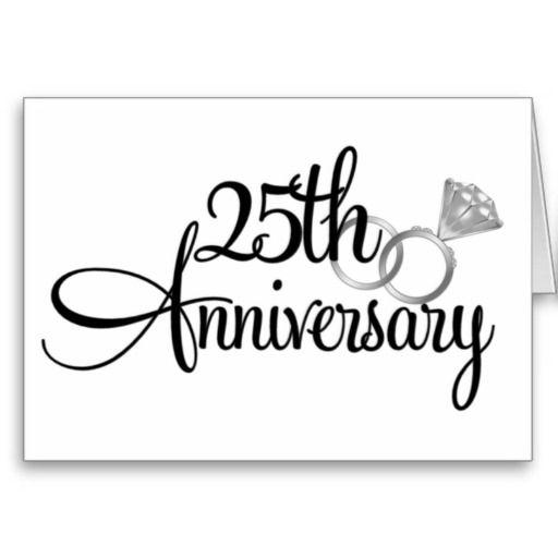 25th Anniversary Clip Art