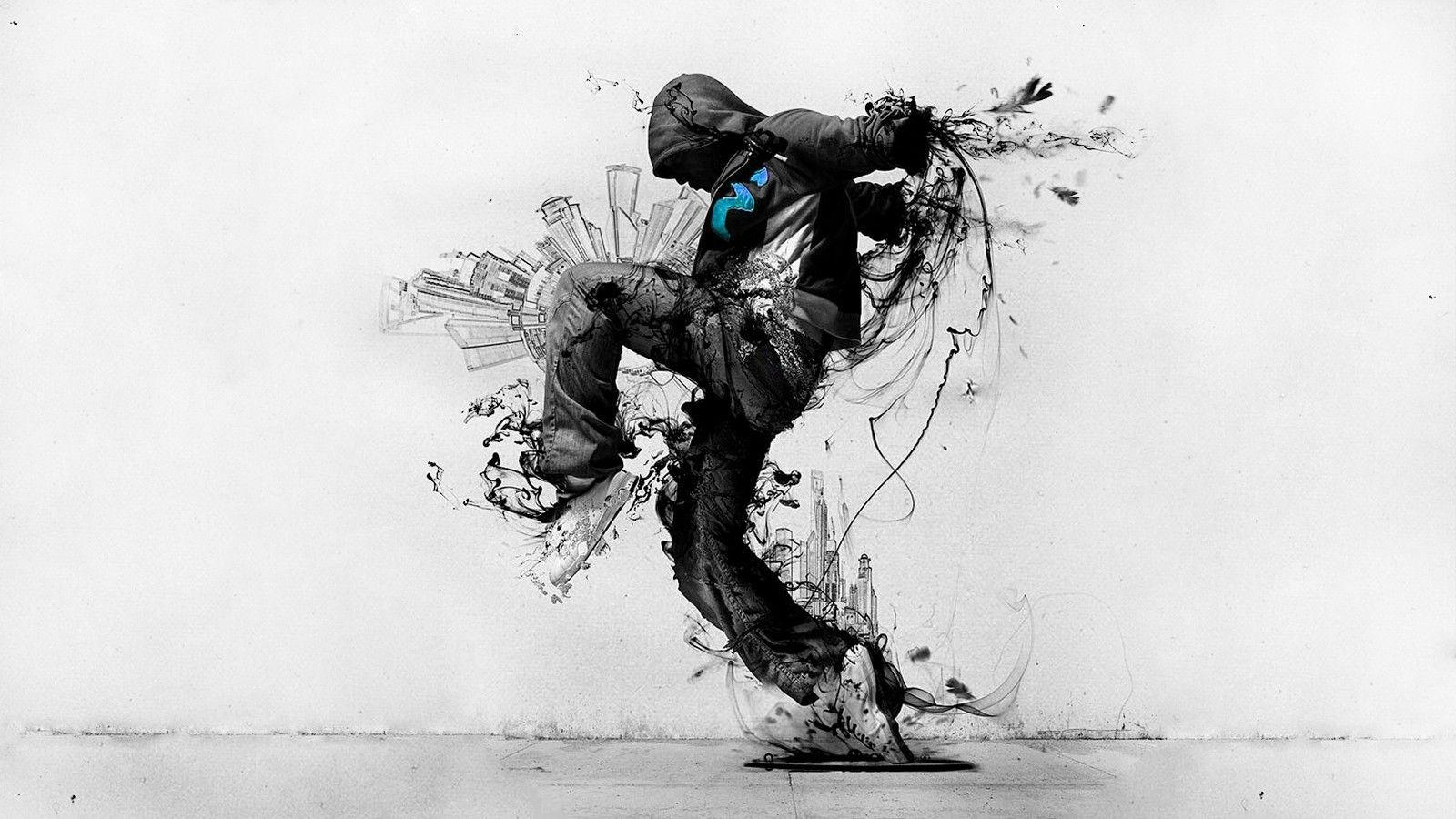 Download Black Converse From Dark Street Art Artwork For Me