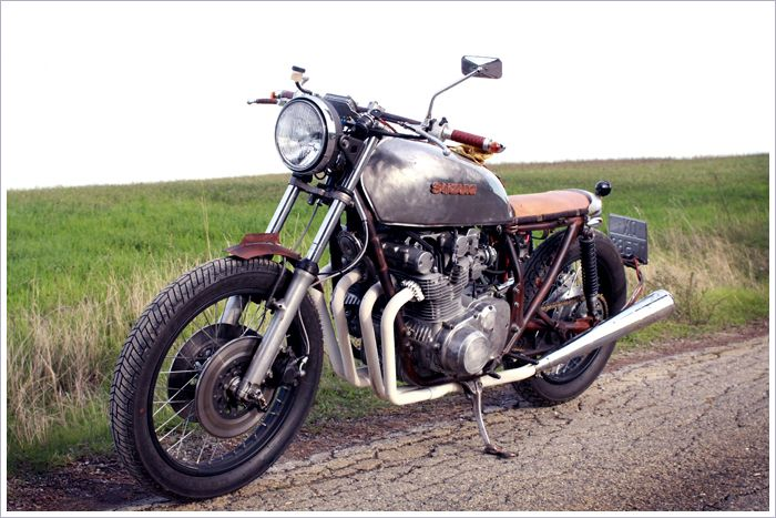 77 Suzuki GS750, 'Rusty ' | Artie Craftsworks | Cool beans ...