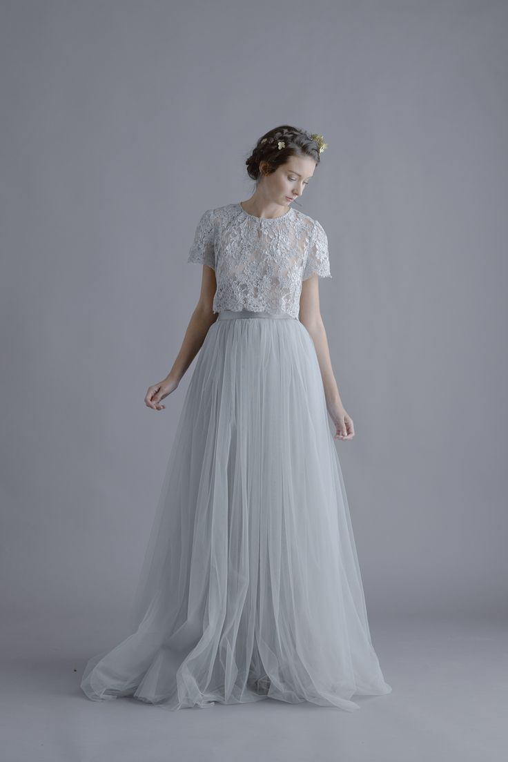 Nice Alexandra Grecco Louise Lace Blouse And Lya Tulle Skirt