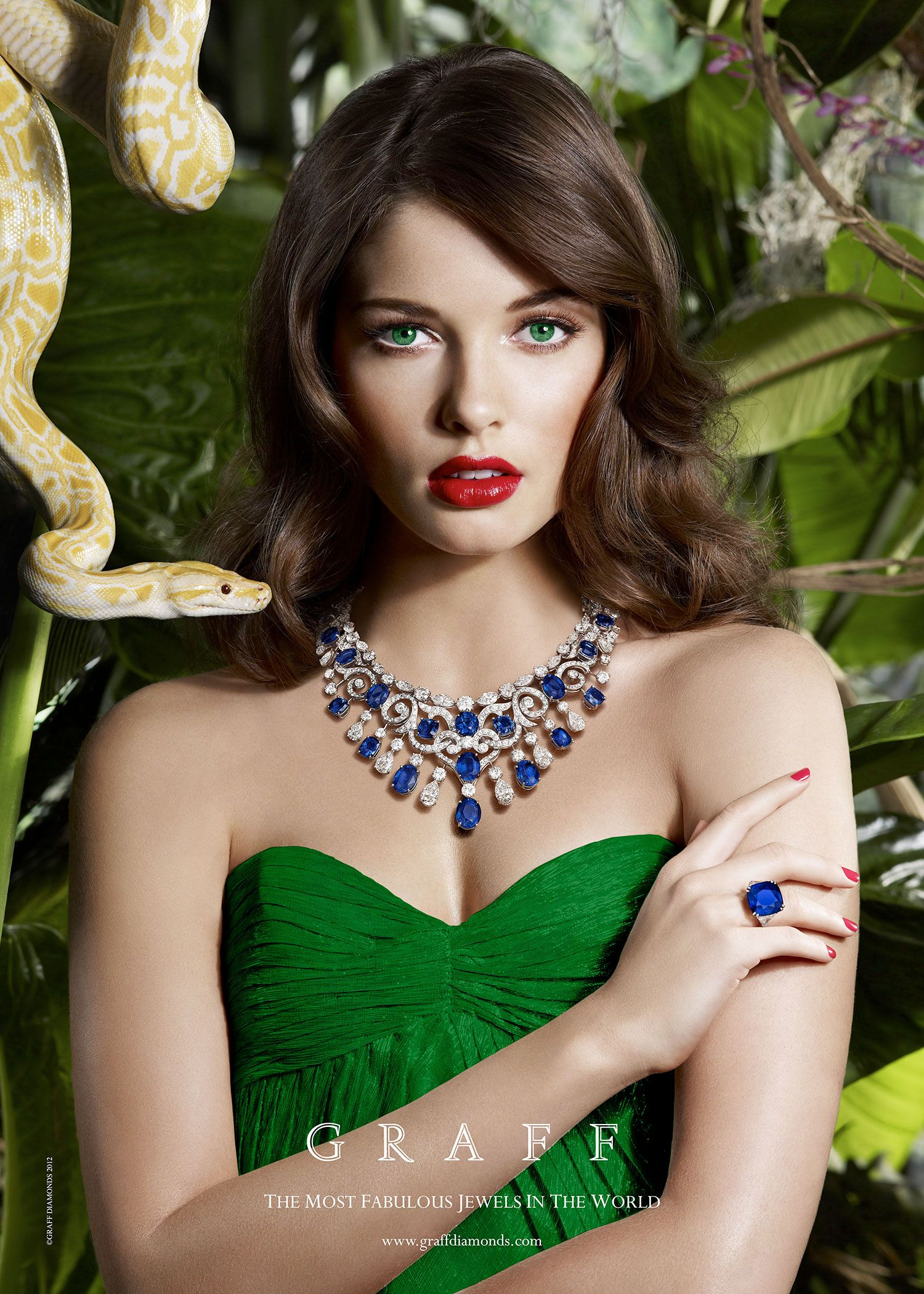 Graff Summer Sapphire The Ultimate Something Blue Fashion Jewellery Advertising Jewelry Ads