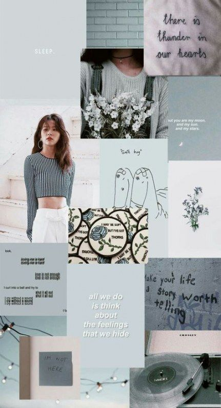 70+ ideas for wall paper aesthetic kpop blue
