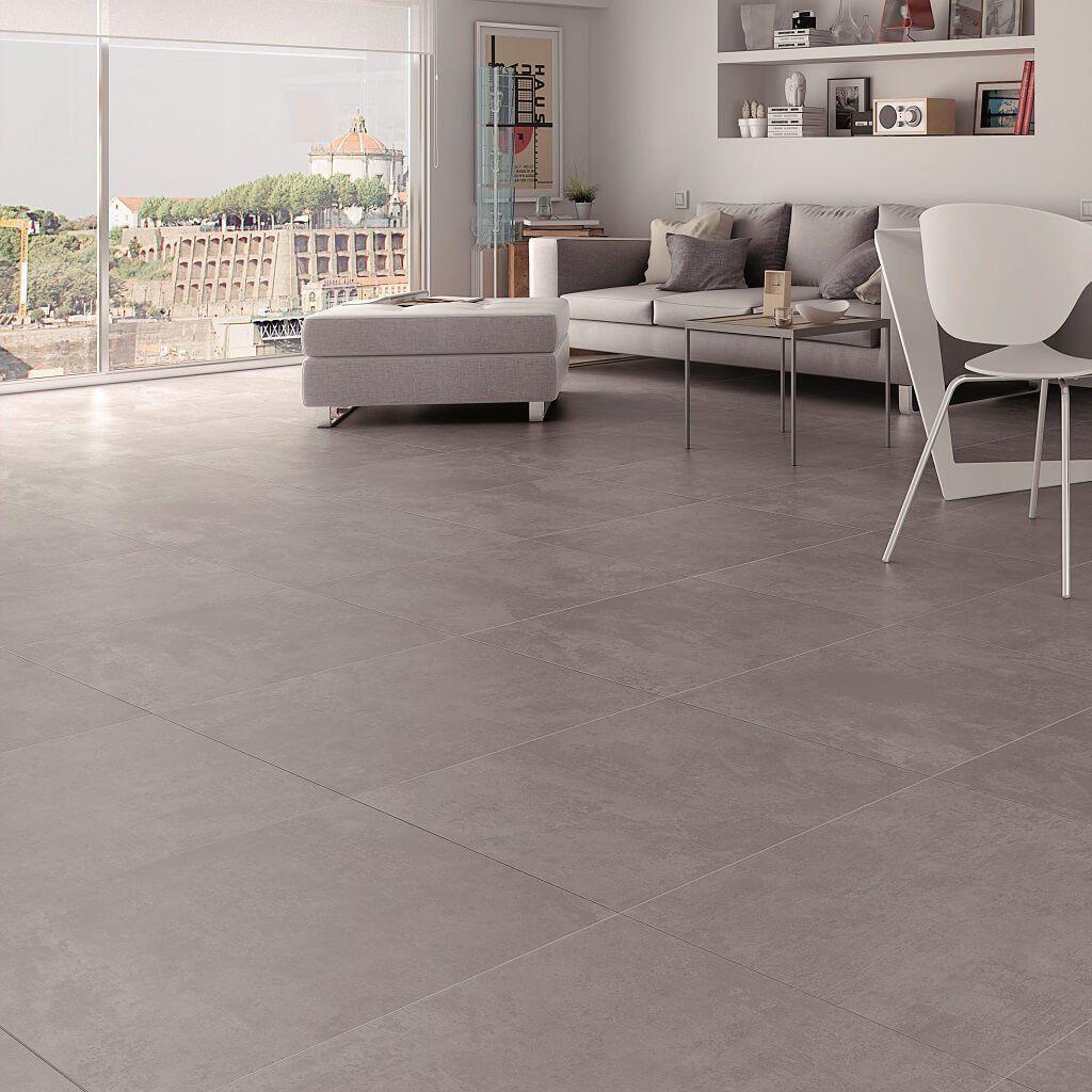 Factory Grey Floor Tiles 45 x 45 cm | Fliesen, Boden und Wände