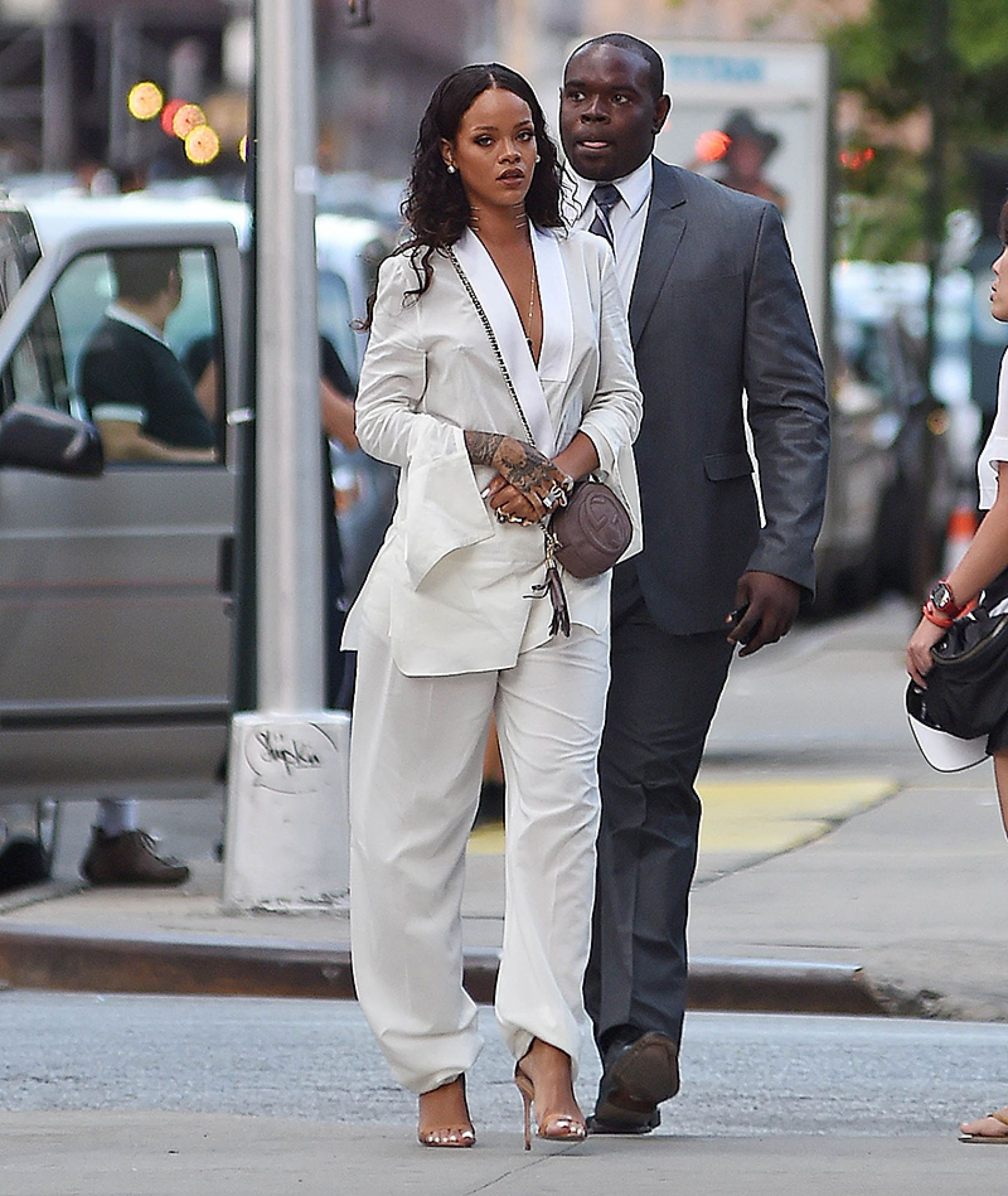 See All 10 Outfits Rihanna Wore To New York Fashio