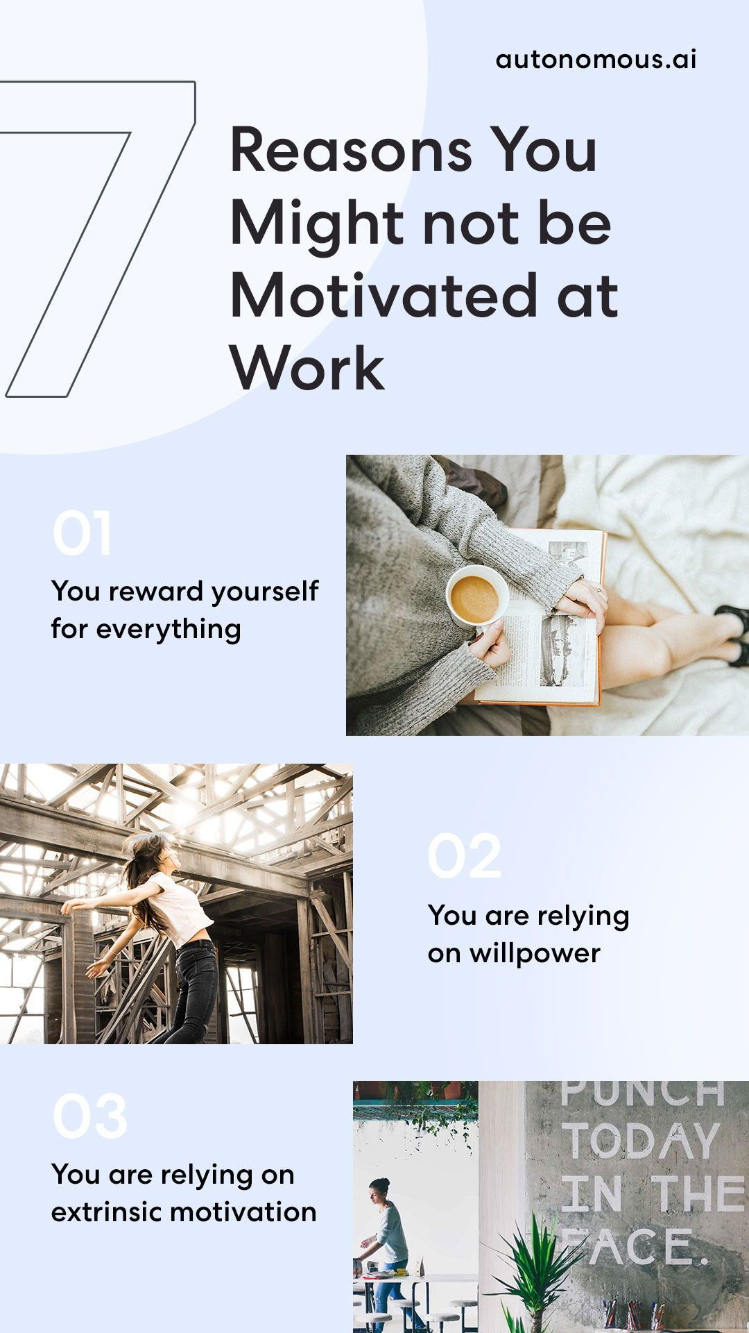 7 Reasons You Might not be Motivated at Work | Autonomous