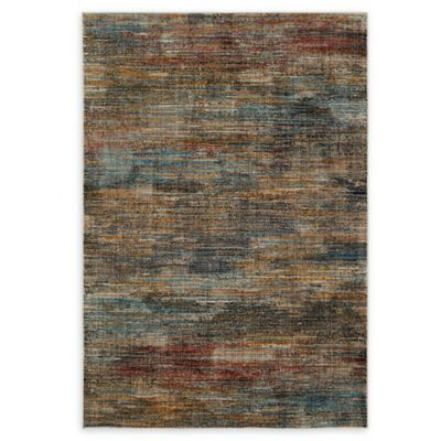 Mohawk Home Abstract Stripe Woven 7 8 X 10 Area Rug In Multi