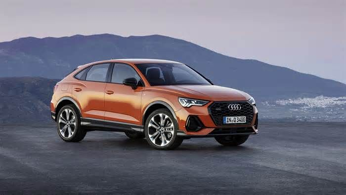 German Manufacturer Audi Has Unveiled A New Compact Suv Coupe The