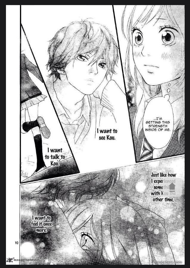 Ao Haru Ride Ch.3 page 9 Manga, Anime, Movie posters