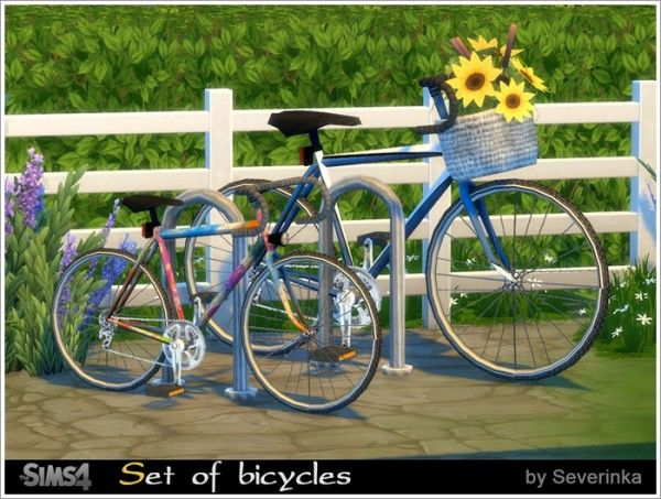 Sims by Severinka: Set of bicycles • Sims 4 Downloads